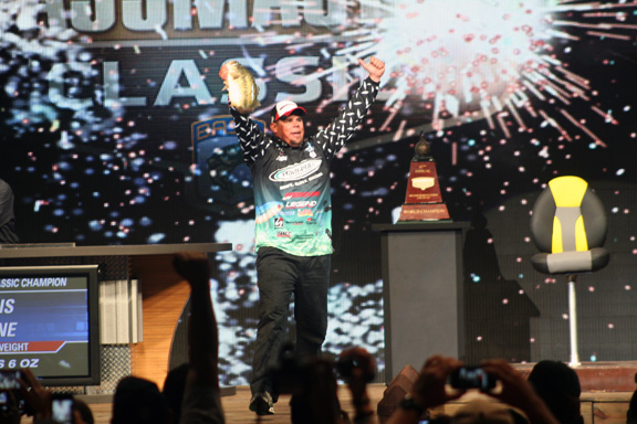 Chris Lane Bassmaster Classic Win